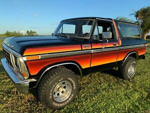 1979 Ford Bronco XLT FREE WHEELING 4x4 Rust Free | eBay