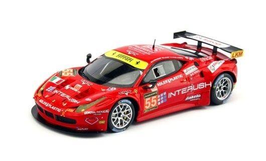 Fujimi TrueScale FJM1443003 Ferrari Ferrari Ferrari 458 Italia GTE Le Mans, Resin 1 43 f29be8
