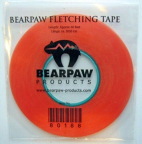 1 REEL`BEARPAW` FLETCHING TAPE stick feathers for Longbow Arrows