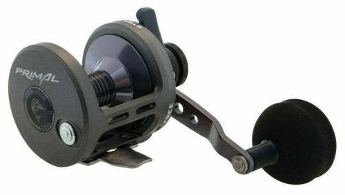 Warranty Fin-Nor Primal PR12LS Overhead LeverDrag Fishing Reel