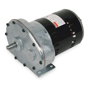 Dayton 56 1 split phase gear motor ac gearmotor 31 rpm for Split phase ac motor