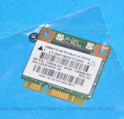 HP 15-F233WM Laptop Wireless Wi-Fi Card