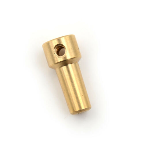 Brass 2.3mm Electric Drill Chuck JT0 Coupling Motor Shaft Coupler Clamp E LL