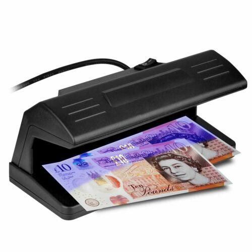 Prima UV Light Money Checker Counterfeit Fake Money Banknote Detector Unit