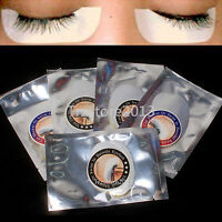 Unbranded 100 × Under Eye Stickers Pads Patches For Eyelash Extensions Tools Set