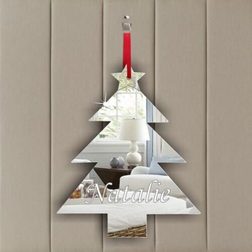 PERSONALISED XMAS TREE Mother/'s Day Wedding Favour Birthday Party Gift Tag Decor