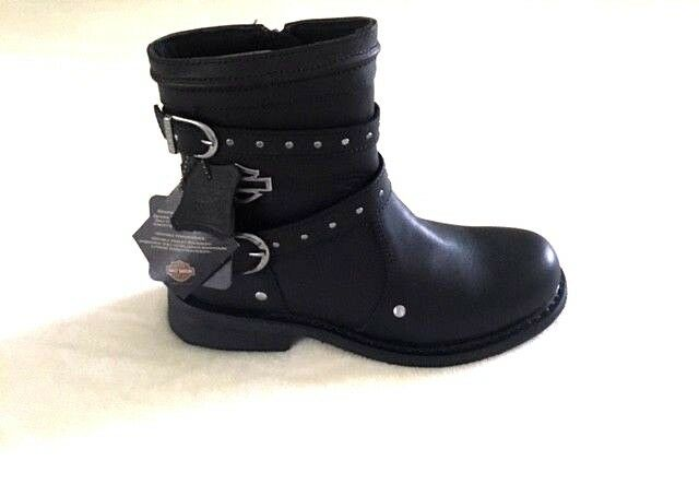 Moteur Harley-Davidson cycles Bottes Chaussures Femmes Taille 8.5 Medium