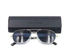 Warby Parker ABE Men's Metal Eyeglasses / Sunglasses Frame 2152 Silver WIDE #19H