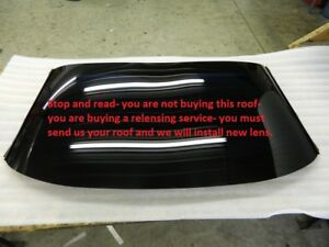 Image Is Loading C5 Corvette Roof Panel Lens Rebuild Exchange Repair