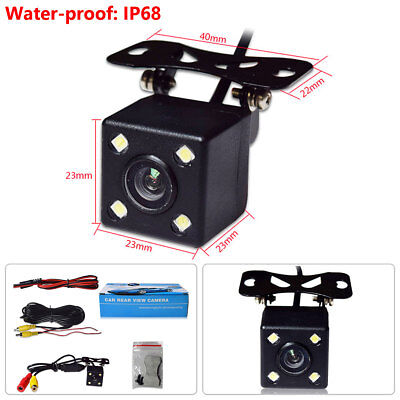 Consumer Electronics Discreet 4led Ir Night Vision Car Reversing Rear View Dynamic Trajectory Camera Wideangle Distinctive For Its Traditional Properties