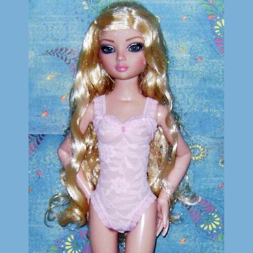 """NEW Ready2Wear Pink Lace Lingerie Teddy fit Ellowyne Wilde 16-17/"""" MSD Pru Amber"""