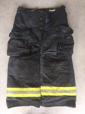 Firefighter Janesville Lion Apparel Turnout Bunker Pants 40x28 Black 2005