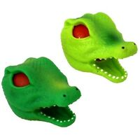 (1) Alligator Head Squeeze Stress Ball For Kids