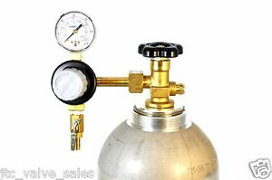 TapRite-T741-Primary-Single-Gauge-Regulator-w-Check-Valve-CO2-Service-N-A