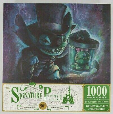 Disney Parks Haunted Mansion 50th Anniversary Stitch 1000 piece Jigsaw Puzzle