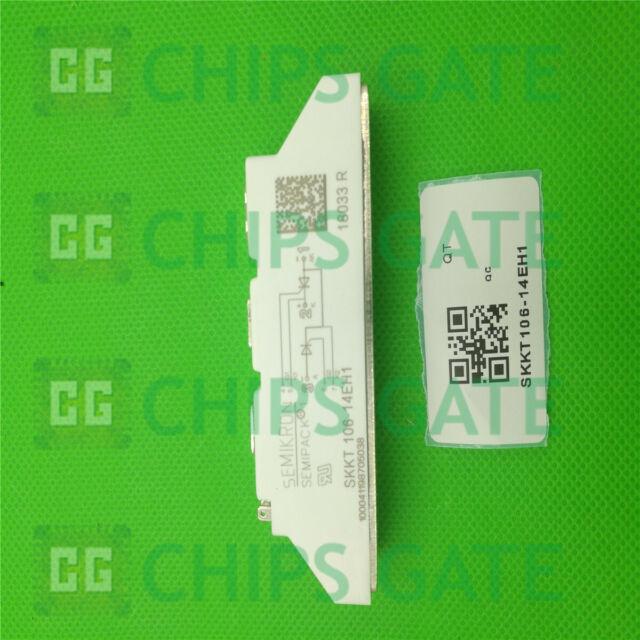 1PCS NEW SKKT106/14EH1 SKKT106-14EH1 SEMIKRON THYRISTOR MODULE
