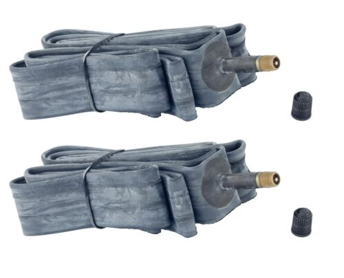 "2 x Quality Schrader Valve Cycle Bike Tubes 40-406 47-406 52-406 54-406 20/"""