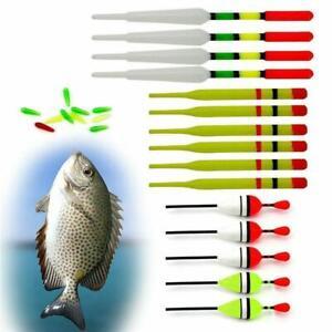 15Pcs-Box-Fishing-Lure-Floats-Bobbers-Slip-Drift-Tube-Indicator-Assorted-Sizes