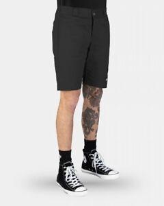DICKIES-Shorts-Skinny-Straight-BLACK-Work-Short-WR801AU