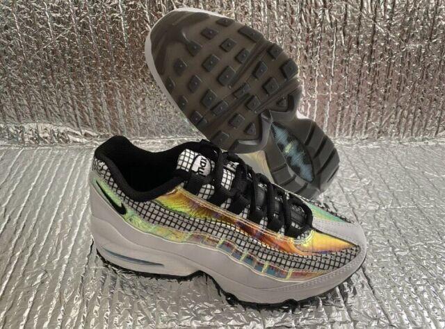 Nike Air Max 95 Lv8 GS Lifestyle Shoe White Blue Gaze Bq7218-100 ...