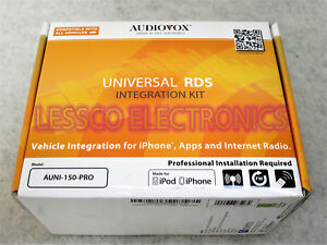 Details about Audiovox AUNI-150-PRO Universal iOS Integration Kit w/Siri  Voice Control
