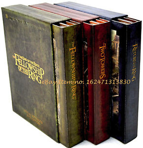 Lord of the rings extended edition trilogy unboxing and review.