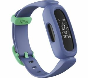 FITBIT Ace 3 Kid's Fitness Activity Tracker - Blue & Green, Universal - Currys