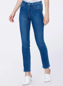 Paige Hoxton Slim High Rise Slim Leg Vintage Bambi Jeans Women S 23 Inseam 28 Ebay
