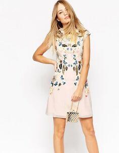 Needle-amp-Thread-Ladies-Eastern-Garden-Embellished-Dress-UK10