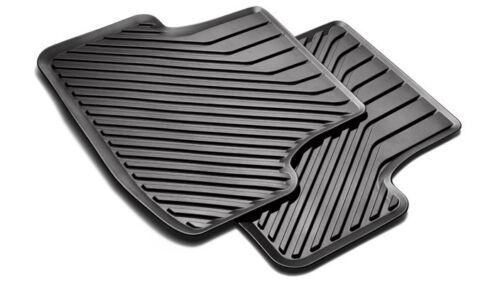 Original Audi A3 8V Sportback Gummimatten Fußmatten hinten schwarz 8V0061512 041