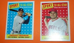 2019-Topps-Archives-1958-Sports-Magazine-All-Star-Insert-YOU-PICK