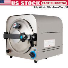 14l 900w Dental Lab Autoclave Sterilizer Steam Medical Sterilization Machine A