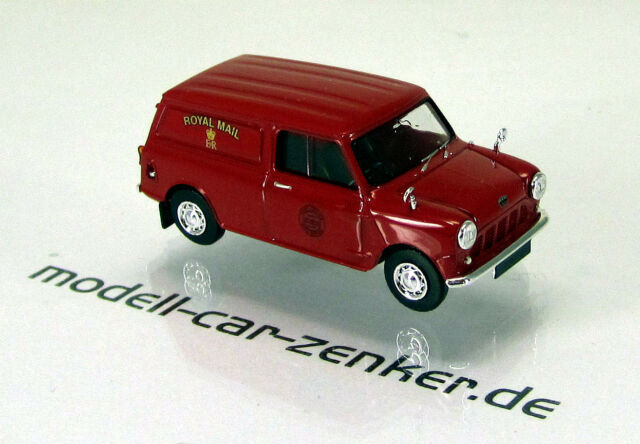 Brekina 15353 Austin Mini Van Royal Mail GB Scale 1 87 NEU OVP