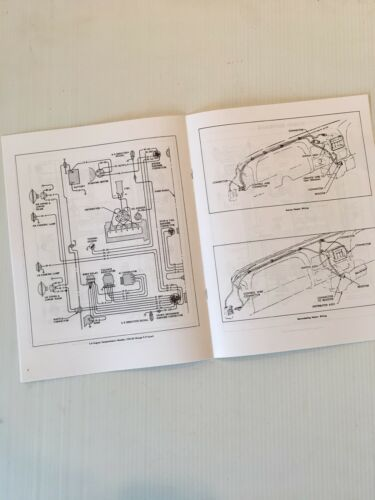 1963 17 Page New Wiring Diagram Booklet Chevrolet Truck