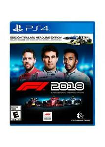F1-2018-Headline-Edition-PS4-Sony-PlayStation-4-2018-Brand-New-Region-Free