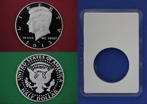 1997 S Proof John Kennedy Half Dollar With 2x2 Snap DCam Clad Combined Shipping