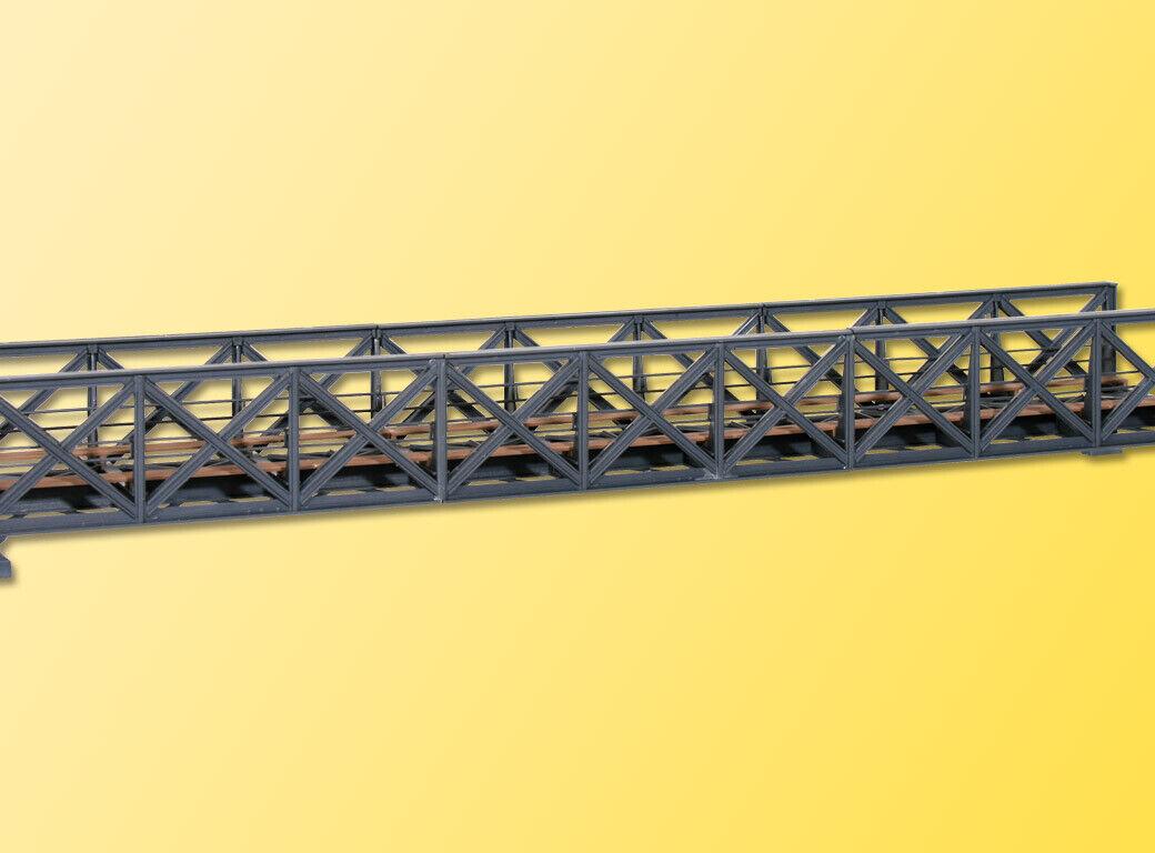 39702 Kibri HO Pont chemin de fer arcade métallique 1 binaire kit mont. sc1 87