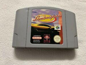 Automobili Lamborghini Nintendo 64 N64 cartucho sólo