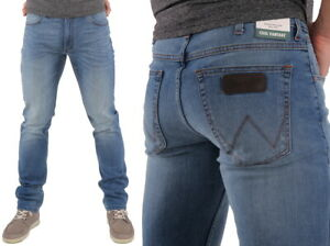 Wrangler-Herren-Jeans-Greensboro-Blown-Away-W30-W38