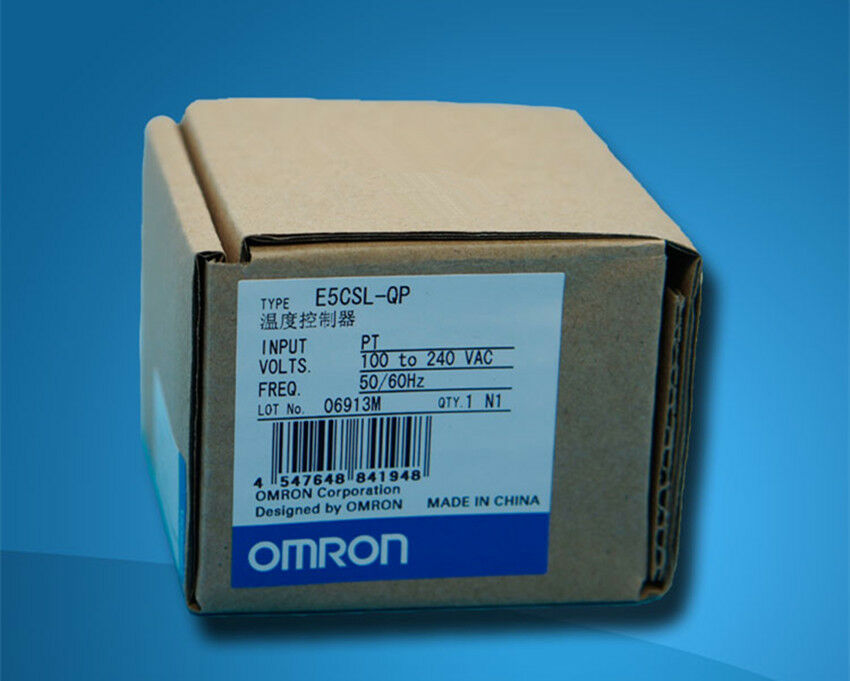 1pcs Omron Temperature Controller E5CSL-QP 100-240VAC NEW IN BOX