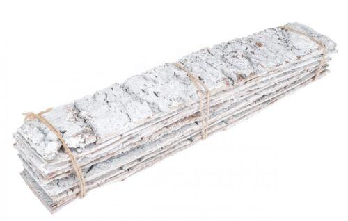 NaDeco®  Birkenrinde weiß 48x9cm 10er BundBirkenplatteBirken PlattenBir