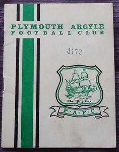 Plymouth-Argyle-v-Rotherham-United-27-February-1965