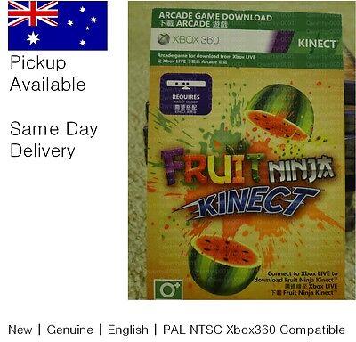 Xbox 360 game : Kinect Fruit Ninja Full Game Download code !