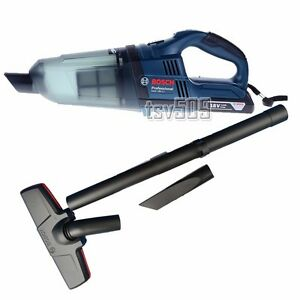 genuine bosch gas 18v li professional cordless vacuum cleaner solo ebay. Black Bedroom Furniture Sets. Home Design Ideas