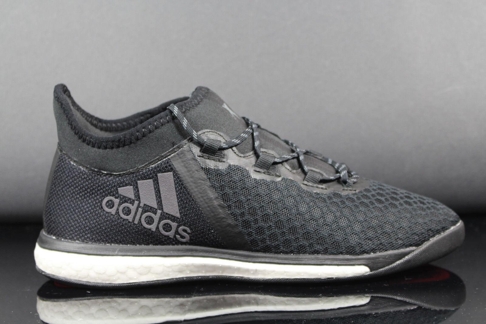Nuevo adidas x 16.1 Street botas de fútbol señores Boost negro bb3801