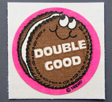 Vintage Matte Scratch /& Sniff Stickers Chocolate Toys For America