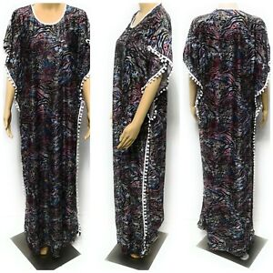 Kaftan Maxi Dress Moroccan HOODED women Abaya Dubai Long Arabian Farasha.