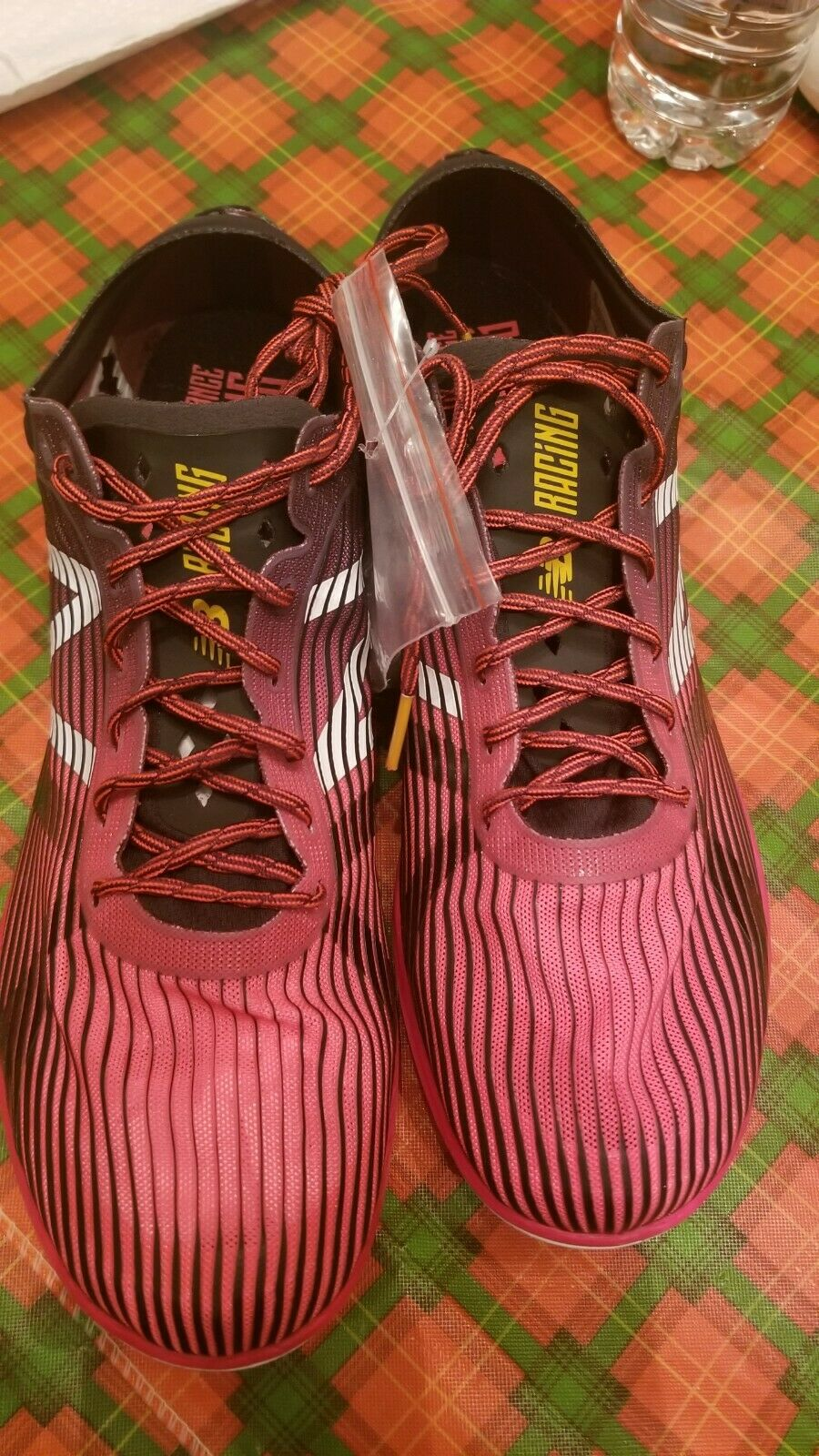 New balance mens XC5K Track and Field Running shoes Size 11 D