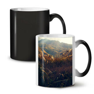 Nature Mountain Valley NEW Colour Changing Tea Coffee Mug 11 oz | Wellcoda