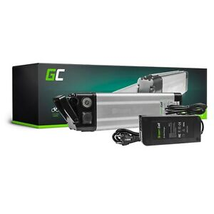 E-Bike Akku 24V 8.8Ah Li-Ion Elektrofahrrad Green Cell Batterie mit Ladegerät